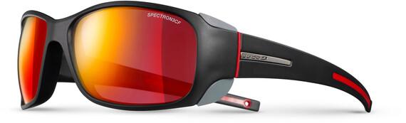 Julbo Monterosa Spectron 3CF Sunglasses Women Matt Black/Red-Red 2018 Gletscherbrillen mgyVA